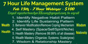 7 hour life management system