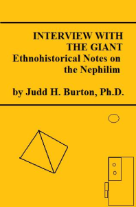 interview with the giant: ethnohistorical notes on the nephilim