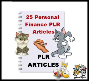 25 personal finance plr articles - ebook