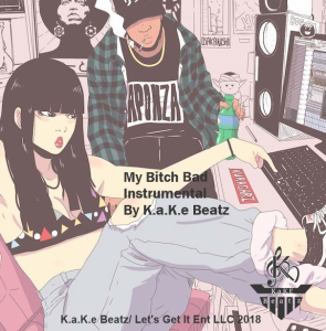 my bitch bad instrumental exclusive lease