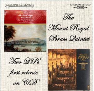 the mount royal brass quintet - 2-cd set