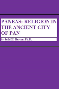 paneas: religion in the ancient city of pan