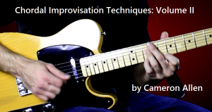 chordal improvisation techniques - vol. ii