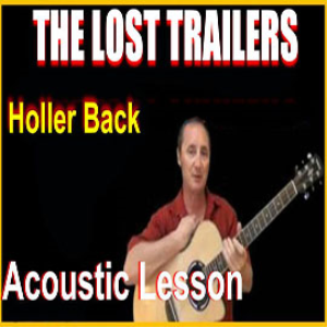 learn to play holler back by the lost trailers