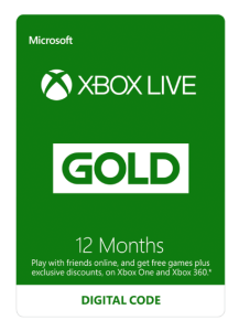 xbox one live 12 months