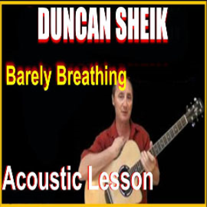 learn to play barely breathing by duncan sheik