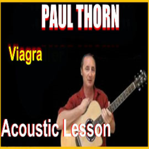 learn to play viagra by paul thorn
