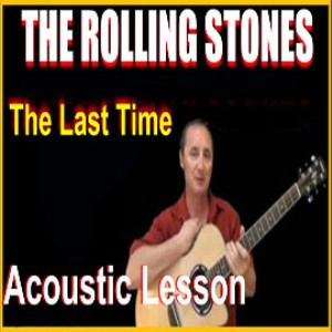 learn to play the last time by the rolling stones