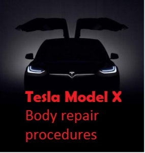 tesla model x body repair procedures