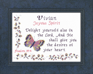 name blessings -  vivian