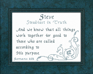 name blessings -  steve