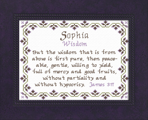 name blessings -  sophia 3