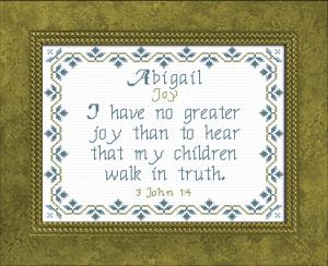 name blessings - abigail 7