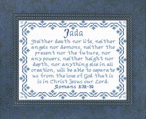 name blessings -  jada