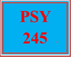 psy 245 week 5 qualitative research case study: presentation