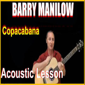 learn to play copacabana by barry manilow