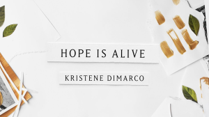 hope is alive (kristene dimarco) for solo, choir, strings, brass and percussion