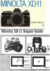 Minolta XD11 XD7 XD 35mm Camera Repair Guide - Instruction Manual -Use | Other Files | Photography and Images