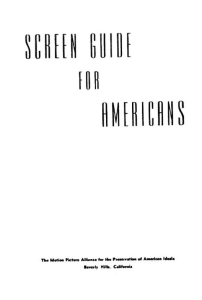 screen guide for americans by ayn rand