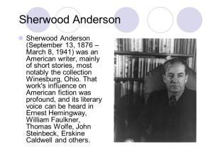 war anderson sherwood