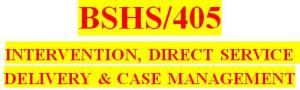 bshs 405 week 4 making the referral