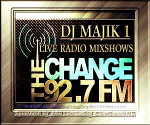 92.7 radio live mixshow (ms live expos) (mississippi folks medley) dj majik 1 klassik man musik mixx 2018