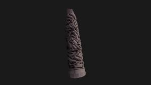 3d view vigeland sculpture monolitten (part 1)