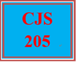 cjs 205 week 3 quick guide to report writing