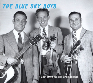 patuxent cd-280 the blue sky boys  1939-1949 radio broadcasts 4cd set