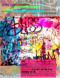 creative TYPE lesson 4 graffiti mark making | Other Files | Arts and Crafts