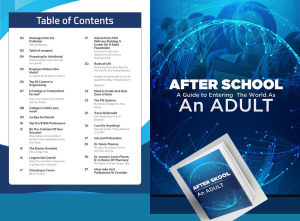 after school - teen to adult survival guide