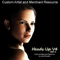 heads up v4 set 1 artist and merchant resource