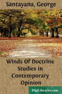 george santayana - winds of doctrine studies in contemporary opinion