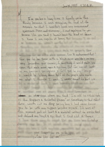 tupac madonna letter