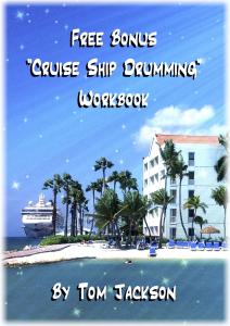 free bonus cruise ship drumming workbook