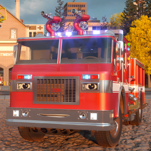 william watermore the fire truck - real city heroes (rch)