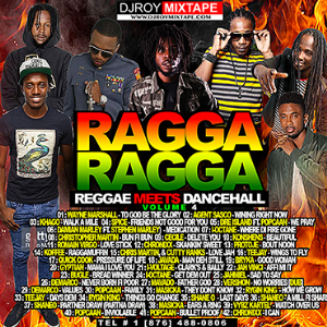 dj roy ragga ragga reggae meets dancehall mix vol.4