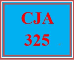 cja 325 week 5 controlling organized crime paper