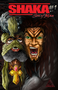 shaka: son of man variant cover