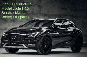 infiniti qx30 h17 2017 service manual wiring diagrams