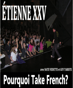 pourquoi take french official music video from etienne xxv album