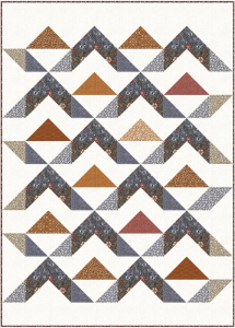 dusky mountains quilt pattern