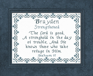 name blessings -  brayden