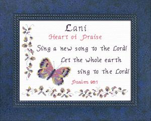 name blessings -  lani