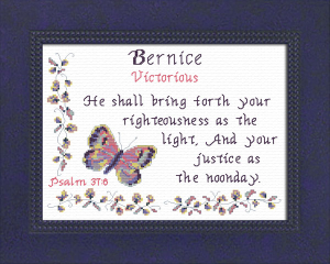 name blessings -  bernice
