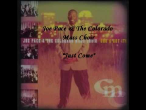 just come – joe pace and the colorado mass choir – horn parts with rhythm