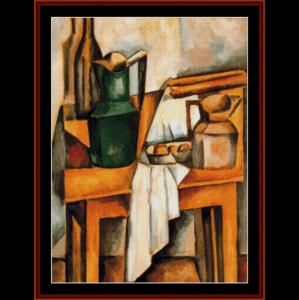 still life, 1910 - derain cross stitch pattern by cross stitch collectibles