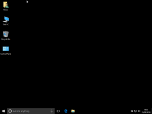 windows 10 - optimized for mining crypto currency
