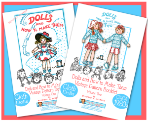 dolls & how to make them - one & two!