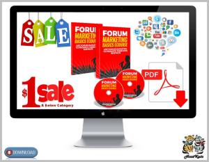forum marketing basics ecourse 2018